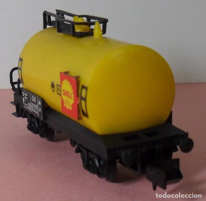 Trenes Escala: ARNOLD N - Vagón cisterna SHELL - Foto 6 - 77948693