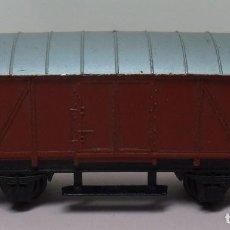 Trenes Escala: ARNOLD N - VAGÓN CERRADO DE MERCANCÍAS. Lote 78423725