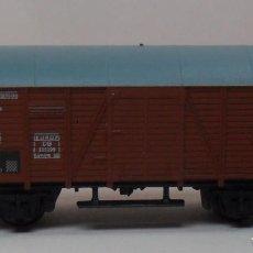 Trenes Escala: ARNOLD N - VAGÓN CERRADO CON GARITA. Lote 86562292