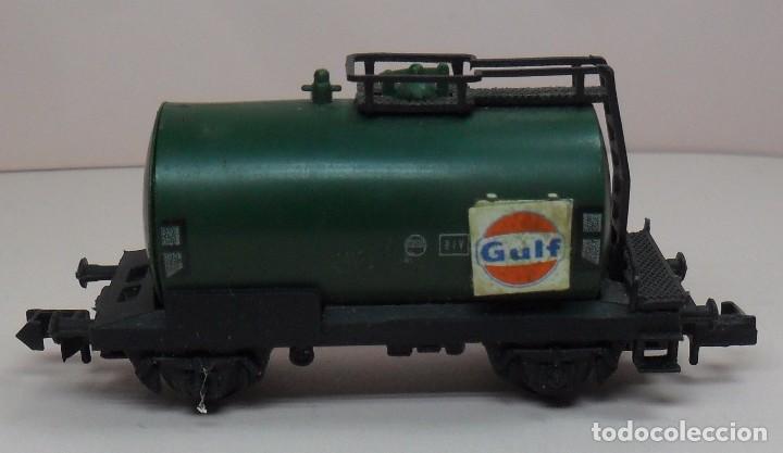 Trenes Escala: ARNOLD N - Vagón cisterna GULF - Foto 3 - 86565732