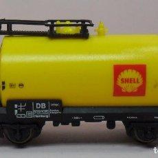 Trenes Escala: ARNOLD N - 4320 - VAGÓN CISTERNA SHELL. Lote 86566172