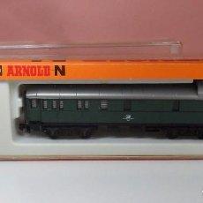 Trenes Escala: ARNOLD N - 3301 - VAGÓN DE EQUIPAJES - CON CAJA ORIGINAL. Lote 92915205