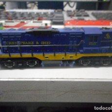 Trenes Escala: LOCOMOTORA ARNOLD N CHESAPEAKE OHIO 6123 TREN. Lote 93032885