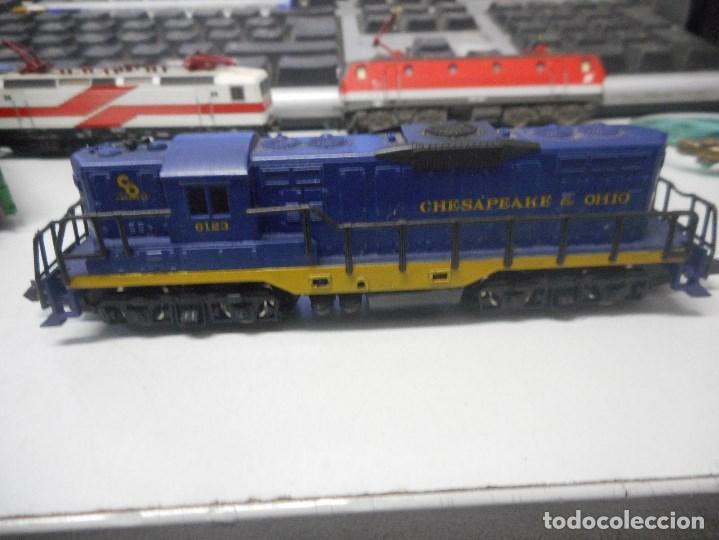 Trenes Escala: locomotora arnold n chesapeake ohio 6123 tren - Foto 3 - 93032885