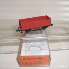 Trenes Escala: ARNOLD N BORDE ALTO REF 4200 (CON COMPRA DE 5 LOTES O MAS ENVÍO GRATIS). Lote 95756075