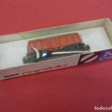 Trenes Escala: ARNOLD RAPIDO. ESCALA N (9 MM.). VAGON EN BLISTER ORIGINAL SIN ABRIR. Lote 98209107