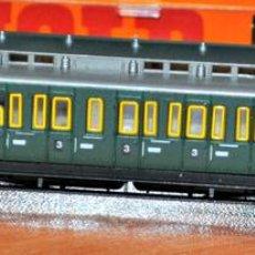 Trenes Escala: LOS PRUSIANOS , COCHE DE VIAJEROS REF. 3394 DE ARNOLD EN ESCALA N. Lote 108924847