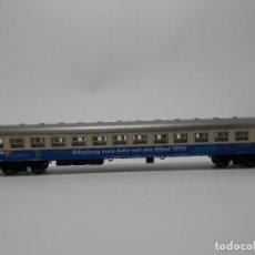 Trenes Escala: VAGÓN PASAJEROS ESCALA N DE ARNOLD CON LUZ . Lote 118461883