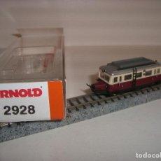 Trenes Escala: ARNOLD N AUTOMOTOR REF 2928 (CON COMPRA DE 5 LOTES O MAS ENVÍO GRATIS). Lote 126886655