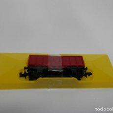 Trenes Escala: VAGÓN BORDE ALTO ESCALA N DE ARNOLD . Lote 133064998