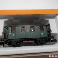 Trenes Escala: VAGÓN PASAJEROS 2 EJES ESCALA N DE ARNOLD . Lote 133104130