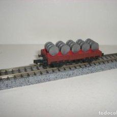 Trenes Escala: ARNOLD N BORDE BAJO CON BIDONES (CON COMPRA DE CINCO LOTES O MAS ENVÍO GRATIS). Lote 140913626