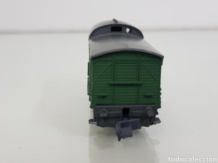 Trenes Escala: Arnold rapido vagón de mercancías escala N de 5 cm verde - Foto 3 - 144838520