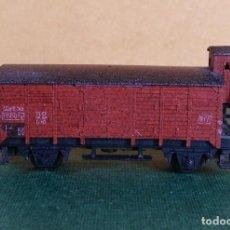 Trenes Escala: N - ARNOLD - VAGON CERRADO CON GARITA. Lote 144910942