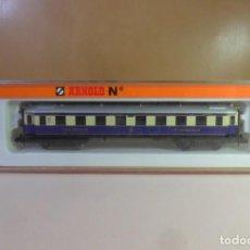 Trenes Escala: N - ARNOLD - VAGON DE PASAJEROS DE 1ª CLASE - DR - CON LUZ INTERIOR ** EN CAJA ORIGINAL. Lote 150106902
