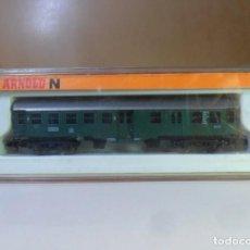 Trenes Escala: N - ARNOLD - VAGON DE PASAJEROS 2ª CLASE - CON LUZ (LEER) * CAJA ORIGINAL. Lote 150158098