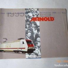 Trenes Escala: ARNOLD, CATALOGO NOVEDADES, 1995, 27 PAG.. Lote 150647742