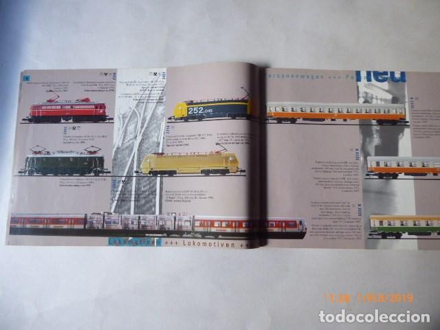 Trenes Escala: arnold, catalogo novedades, 1995, 27 pag. - Foto 4 - 150647742