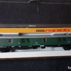 Trenes Escala: ARNOLD,N,0324,FURGON DE LA DB EN CAJA ORIGINAL,TIPO FLEISCHMANN,IBERTREN,ROCO ETC. Lote 151365786