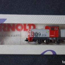 Trenes Escala: ARNOLD,N,5703,LOCOMOTORA DIESEL RENFE EN CAJA,TIPO FLEISCHMANN,IBERTREN,ROCO ETC. Lote 151366858