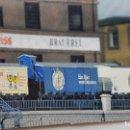 Trenes Escala: ARNOLD 0156 N WAGENSET 5 PIEZAS (VAGÓN DE LA CERVEZA DE BERLÍN) TREN ESPECIAL AÑO 1987. Lote 151899574