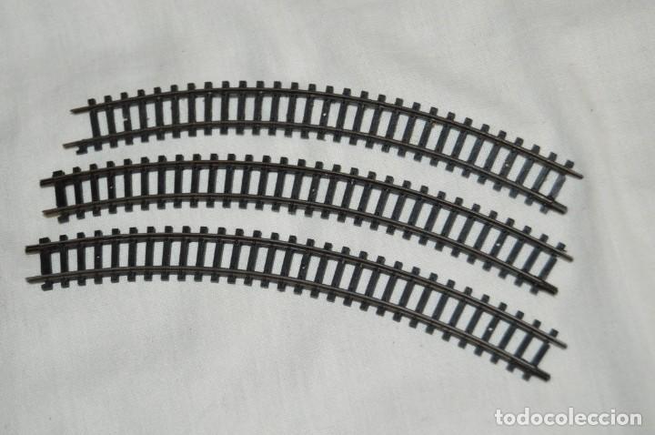 Trenes Escala: GRAN LOTE DE VÍAS, CAMBIOS Y ACCESORIOS ARNOLD - ARNOLD RAPIDO - ESCALA N - ENVÍO 24H - Foto 3 - 153451866