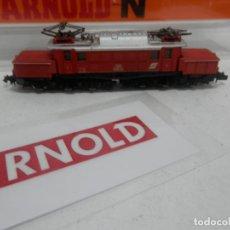 Trenes Escala: LOCOMOTORA ELECTRICA COCODRILO DE LA SBB ESCALA N DE ARNOLD. Lote 156557866