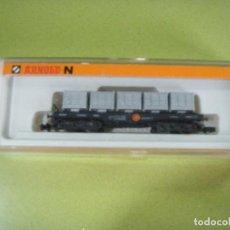 Trenes Escala - Arnold N - Vagón plataforma con contenedores de residuos, ref.4995 - 158142574