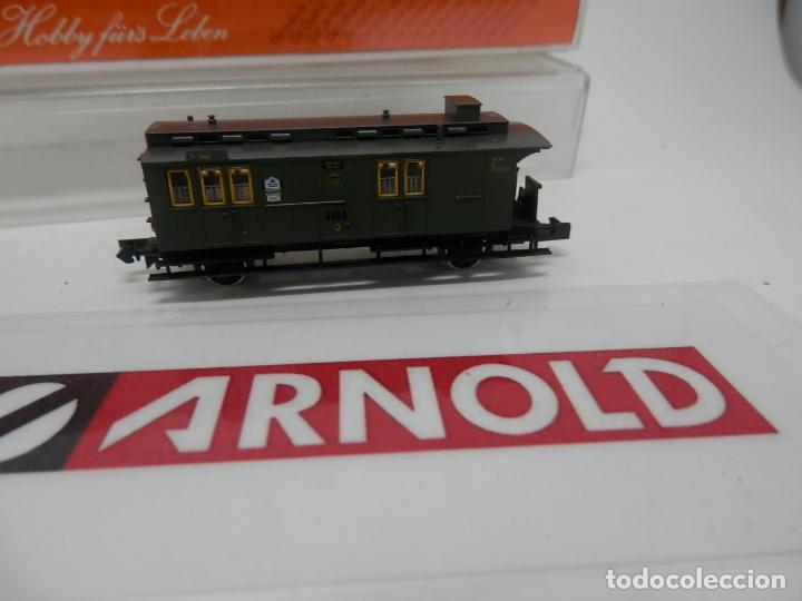 Trenes Escala: VAGÓN FURGON ESCALA N DE ARNOLD - Foto 2 - 159933214