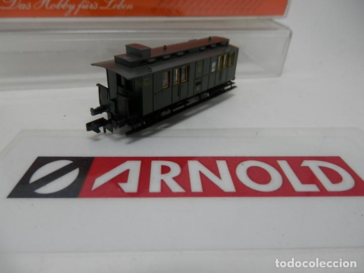 Trenes Escala: VAGÓN FURGON ESCALA N DE ARNOLD - Foto 3 - 159933214