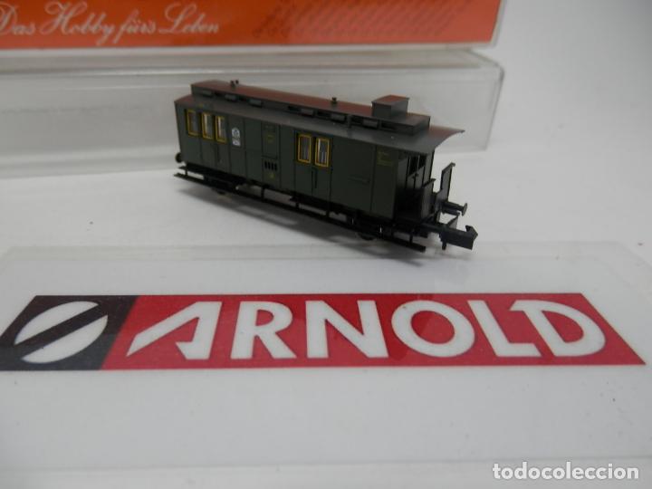 Trenes Escala: VAGÓN FURGON ESCALA N DE ARNOLD - Foto 4 - 159933214