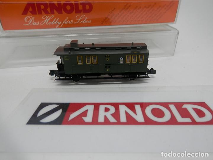 Trenes Escala: VAGÓN FURGON ESCALA N DE ARNOLD - Foto 6 - 159933214