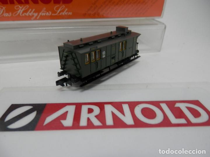 Trenes Escala: VAGÓN FURGON ESCALA N DE ARNOLD - Foto 7 - 159933214