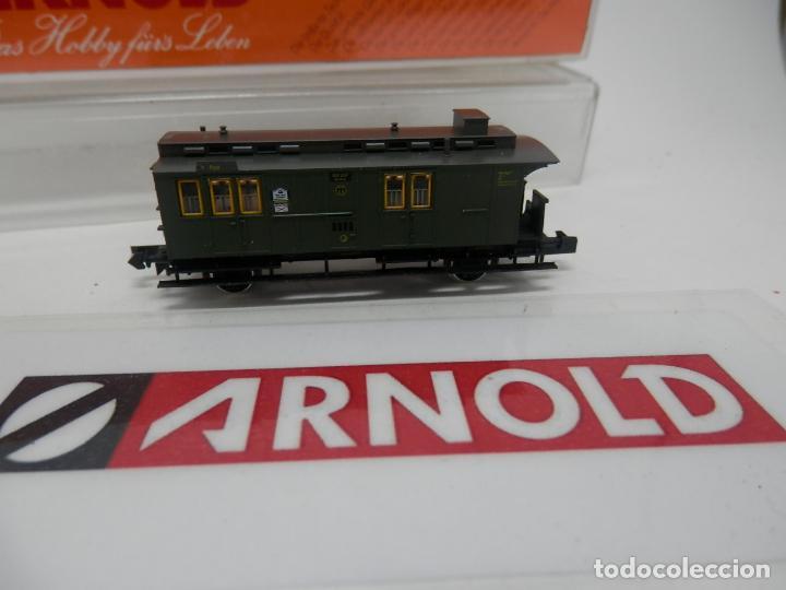 Trenes Escala: VAGÓN FURGON ESCALA N DE ARNOLD - Foto 8 - 159933214