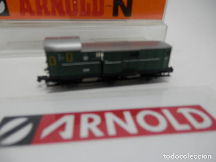 Trenes Escala: VAGÓN FURGON ESCALA N DE ARNOLD - Foto 4 - 159933286