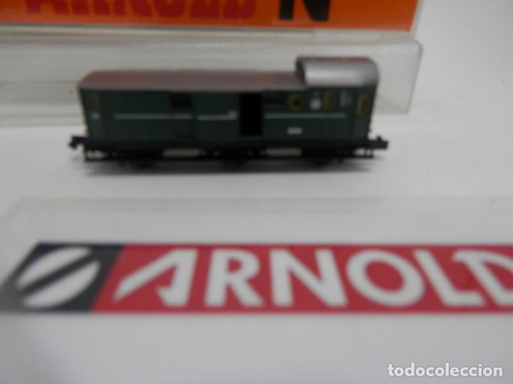 Trenes Escala: VAGÓN FURGON ESCALA N DE ARNOLD - Foto 5 - 159933286