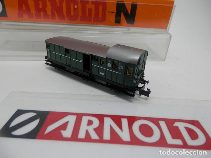 Trenes Escala: VAGÓN FURGON ESCALA N DE ARNOLD - Foto 6 - 159933286