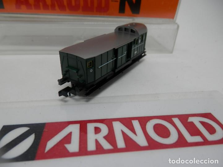 Trenes Escala: VAGÓN FURGON ESCALA N DE ARNOLD - Foto 7 - 159933286