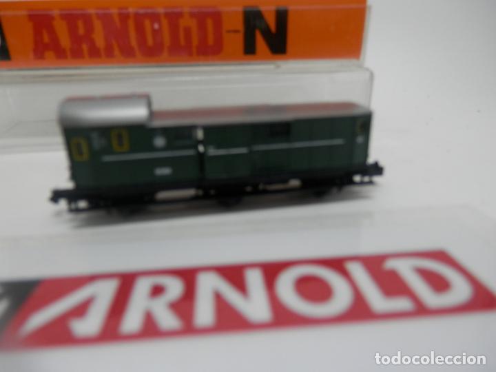 Trenes Escala: VAGÓN FURGON ESCALA N DE ARNOLD - Foto 8 - 159933286