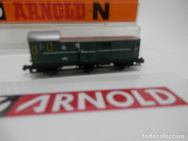 Trenes Escala: VAGÓN FURGON ESCALA N DE ARNOLD - Foto 10 - 159933286