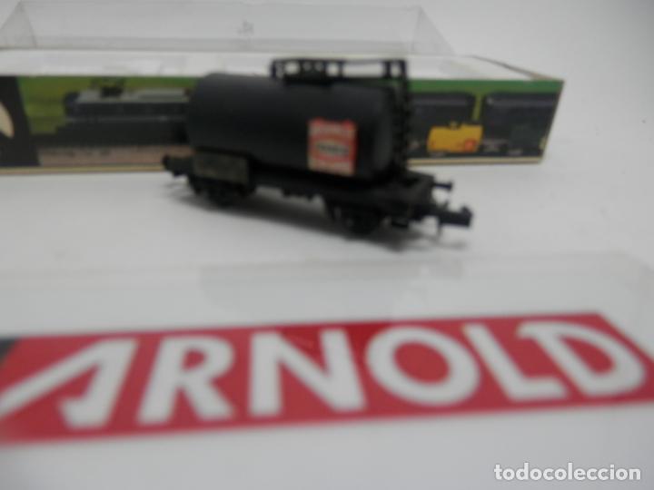 Trenes Escala: VAGÓN CISTERNA ESCALA N DE ARNOLD - Foto 2 - 159933402