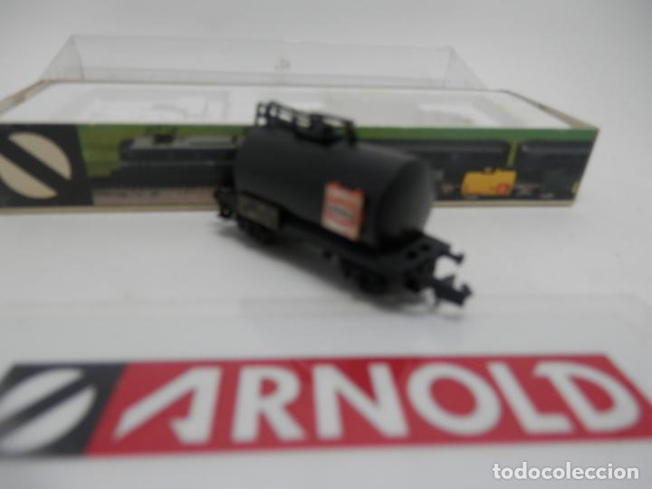 Trenes Escala: VAGÓN CISTERNA ESCALA N DE ARNOLD - Foto 5 - 159933402