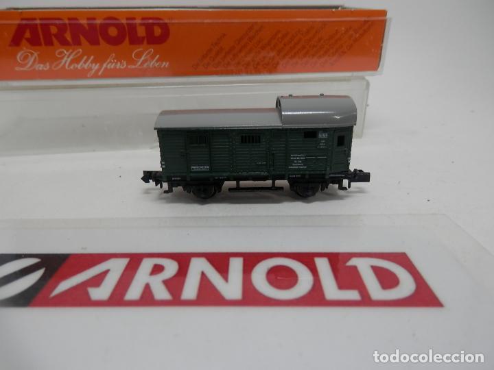 Trenes Escala: VAGÓN FURGON ESCALA N DE ARNOLD - Foto 2 - 159933550