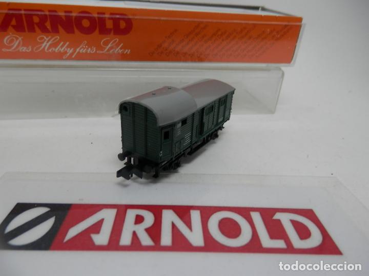 Trenes Escala: VAGÓN FURGON ESCALA N DE ARNOLD - Foto 3 - 159933550