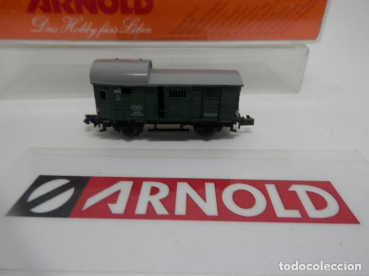 Trenes Escala: VAGÓN FURGON ESCALA N DE ARNOLD - Foto 5 - 159933550