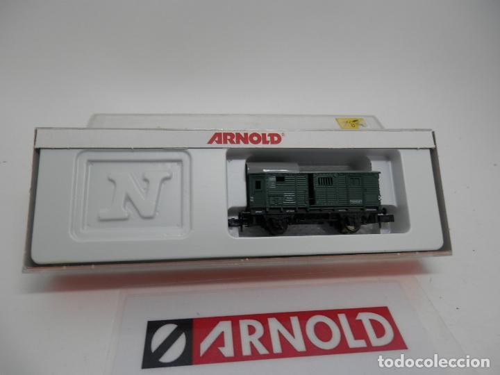 Trenes Escala: VAGÓN FURGON ESCALA N DE ARNOLD - Foto 6 - 159933550