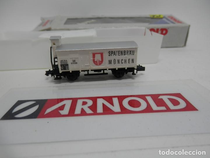 VAGÓN CERRADO ESCALA N DE ARNOLD (Juguetes - Trenes a Escala N - Arnold N )