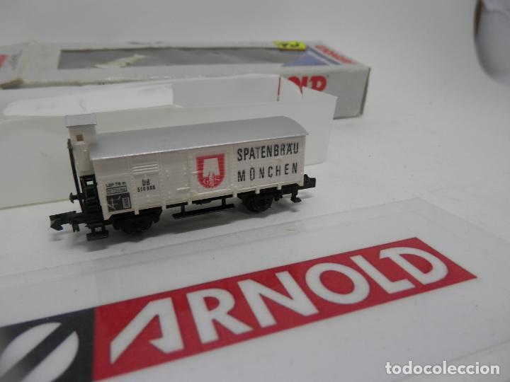 Trenes Escala: VAGÓN CERRADO ESCALA N DE ARNOLD - Foto 2 - 159933698