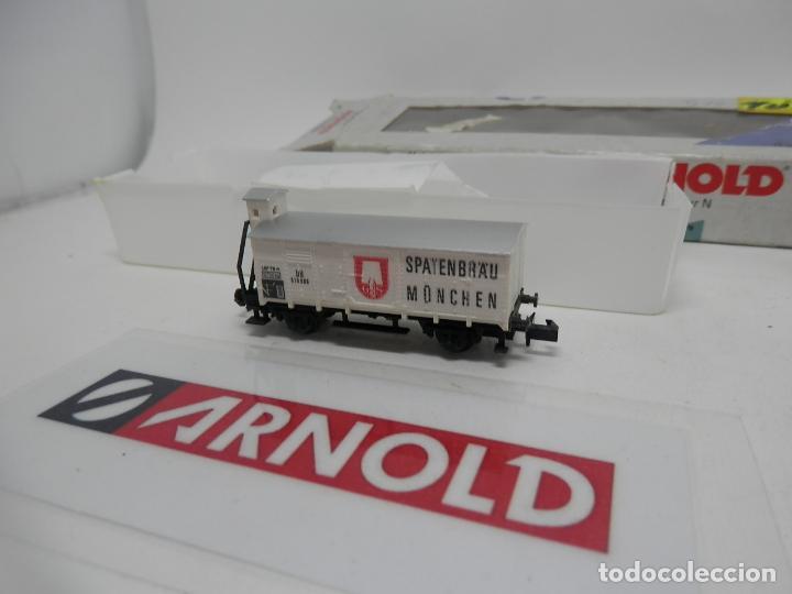 Trenes Escala: VAGÓN CERRADO ESCALA N DE ARNOLD - Foto 3 - 159933698