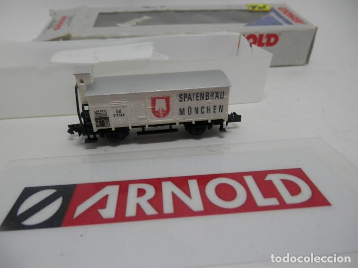 Trenes Escala: VAGÓN CERRADO ESCALA N DE ARNOLD - Foto 5 - 159933698